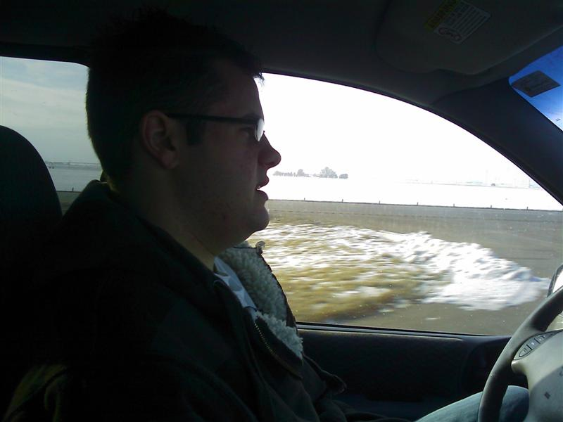 Jared Driving